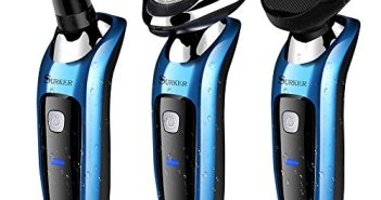 SURKER Electric Shaver Rotary Shaver Wet and Dry 3 in 1 With Nose Trim… Review