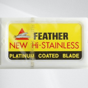 Feather Double-Edged Blades Yellow