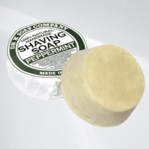 Dr K Soap Company Shaving Soap, Peppermint 70g