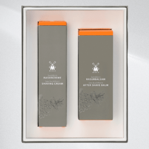 MÜHLE Skin care set from with shaving cream and after shave Sea Buckthorn