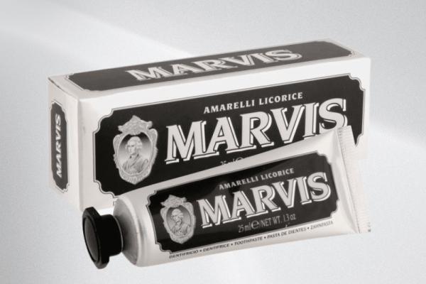 Marvis Amarelli Licorice Mint Toothpaste 25ml
