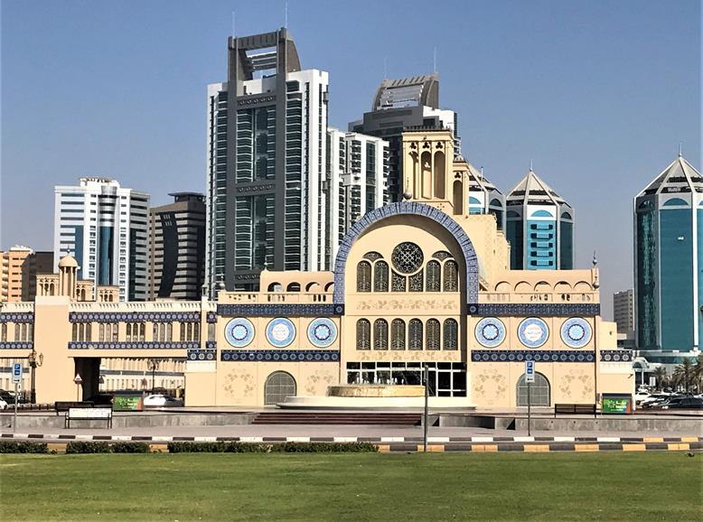 The beautiful architecture - Emirate of Sharjah