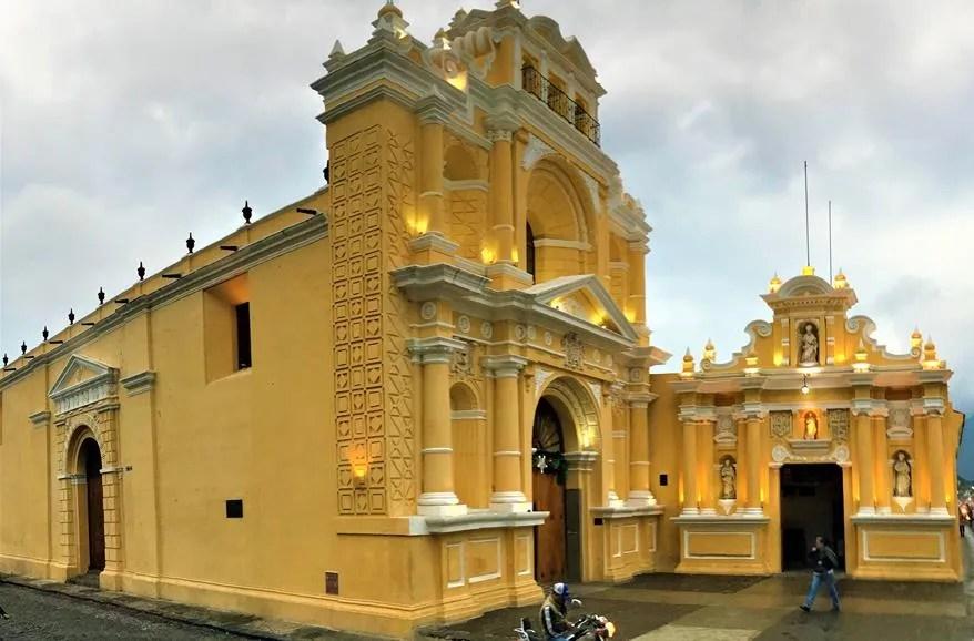 Church of La Merced and Monastery Antigua Guatemala