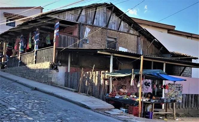 Street market, Copan Honduras