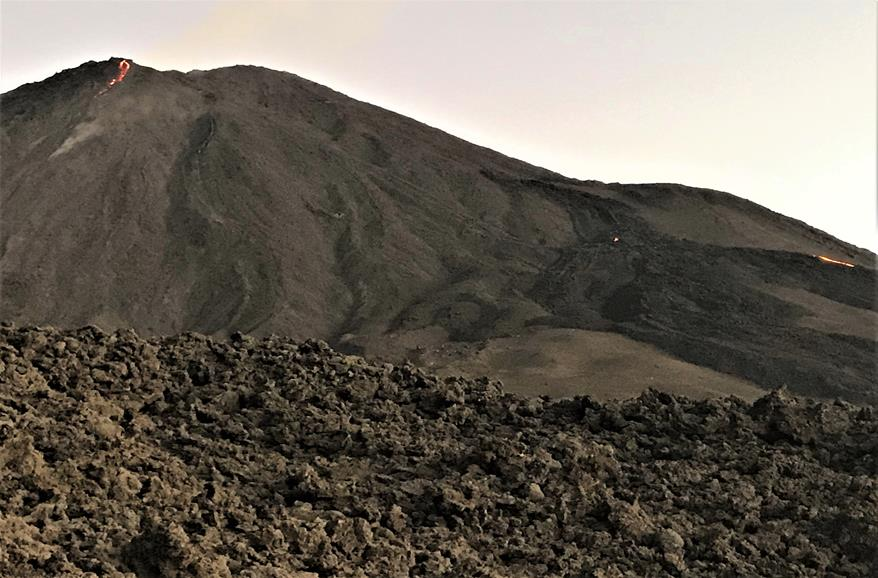 The landscape of Pacaya volcano- Guatemala