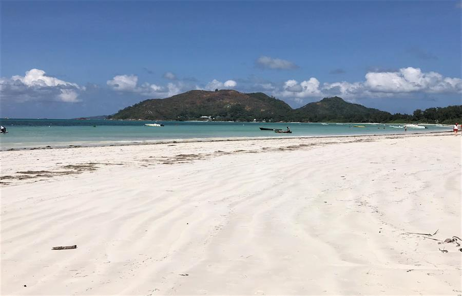 Cote d'or beach - Praslin, Seychelles