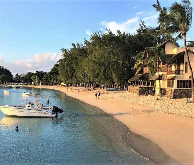 Grand-Baie Beach, Mauritius
