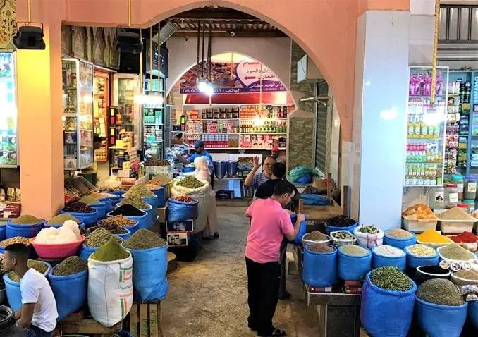 Covered market- Meknes, Morocco