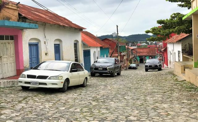 The historical town of Flores
