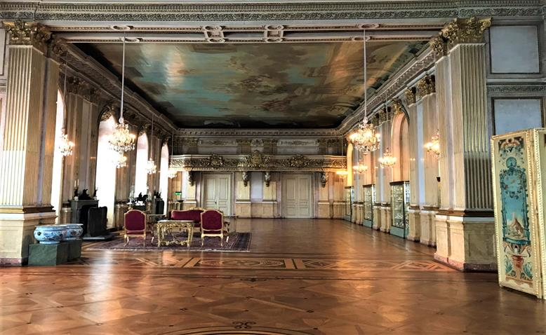 The ball room of the Royal palace - Stockholm, Sweden