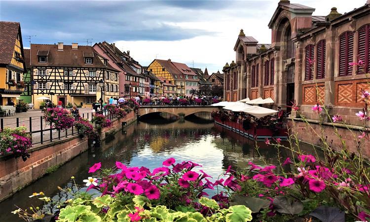 The little Venice of Colmar