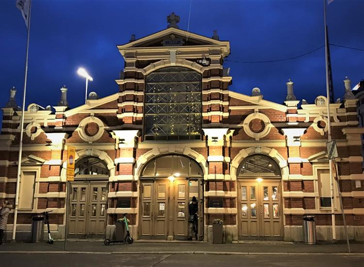 Vanha Kauppahalli is the old market hall of Helsinki