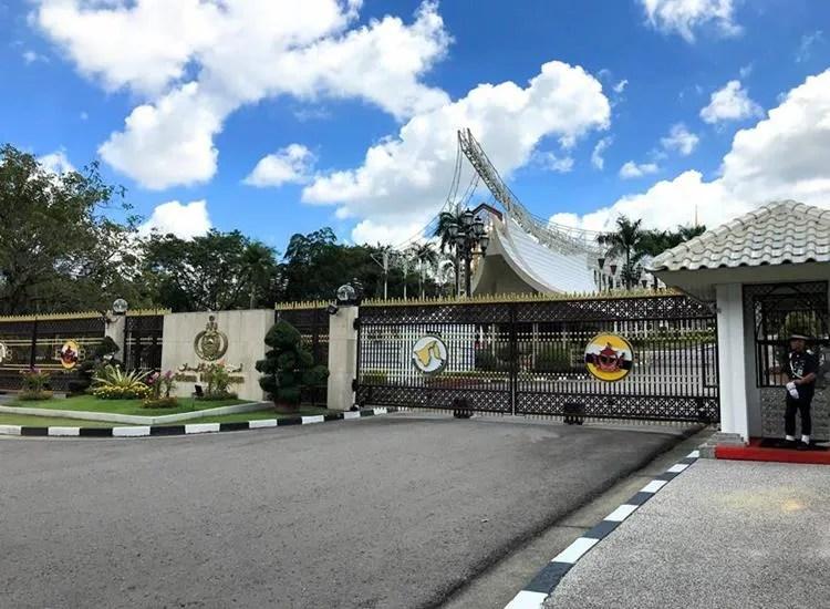 The sultan's palace, Istana Nurul Iman