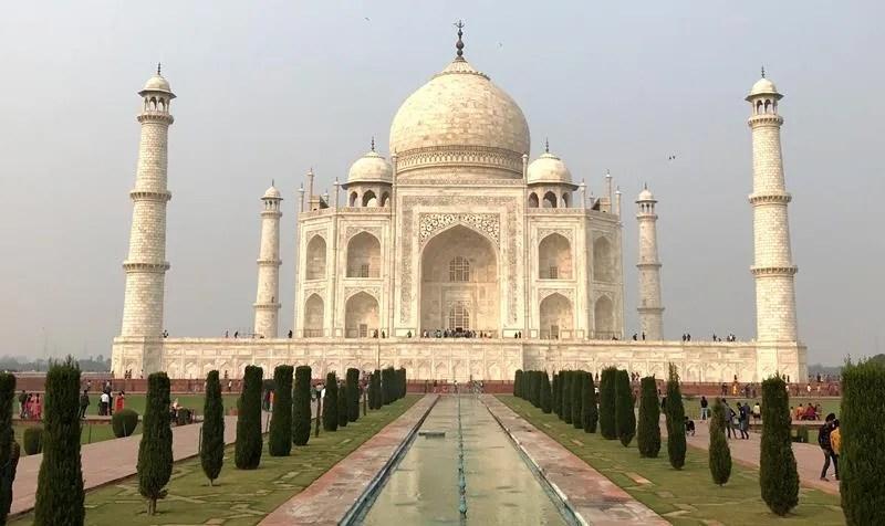 The astonishing Taj Mahal