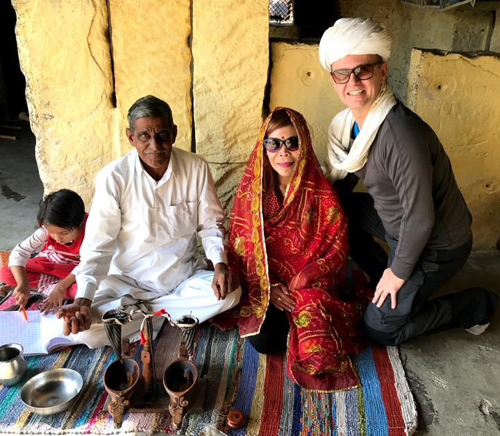 Learning the local tradition at Bishnoi village