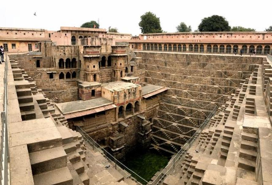 Chand Baori the biggest stepwell in the world