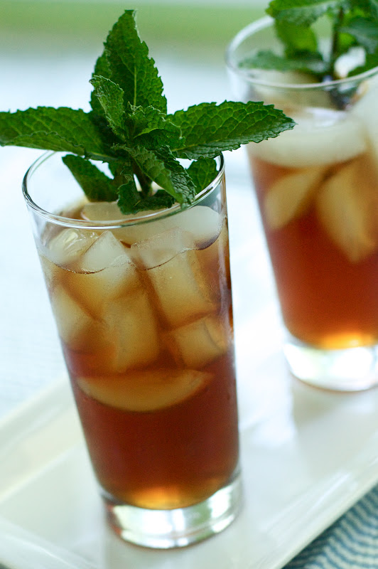 Cucumber Moroccan Mint Ice Tea
