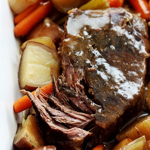 Garlic Beef Roast