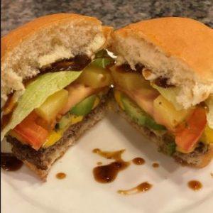 Grilled Hawaiian Burger