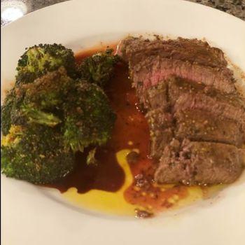Vermont Maple Grilled Steak
