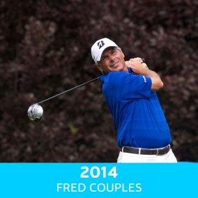 2014 Winner - Fred Couples