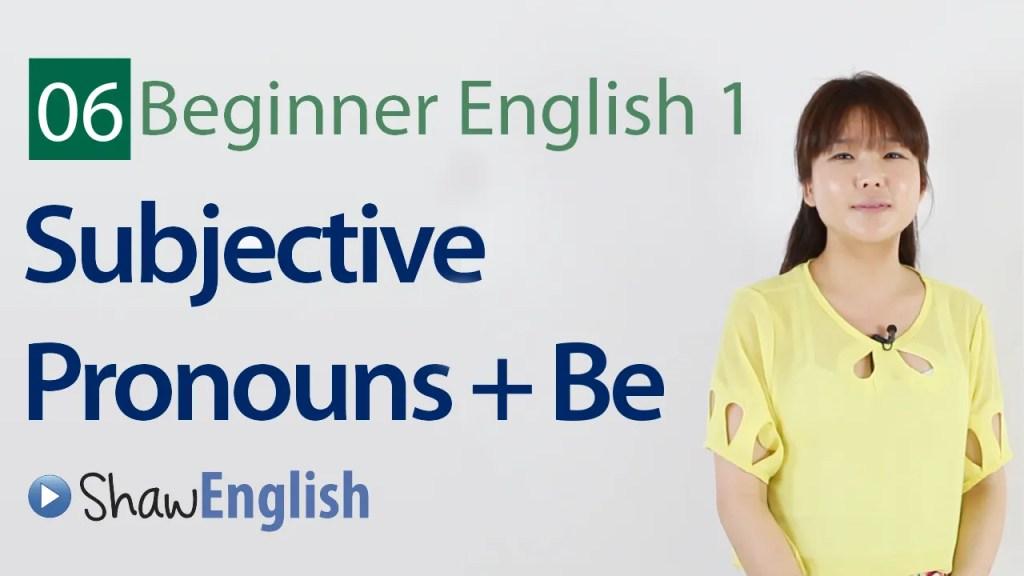 Beginner English 6