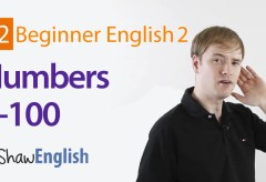 English Numbers 1-100