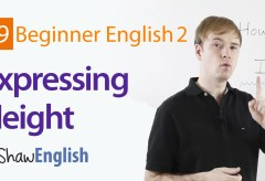 How to Express Height in English