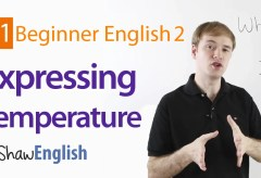 How to Express Temperature in English