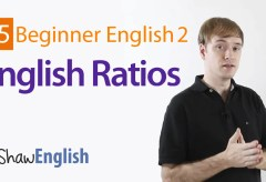How to Express Ratios in English