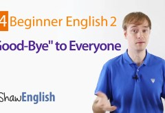 Saying Good-Bye in English