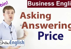 Business English: Asking and Answering Price
