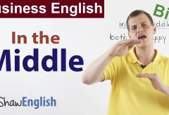 Business English: In the Middle
