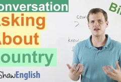 Asking About Country in English