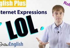 English Internet Expressions LOL