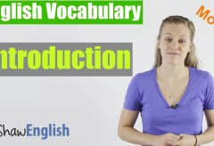 English Vocabulary Introduction