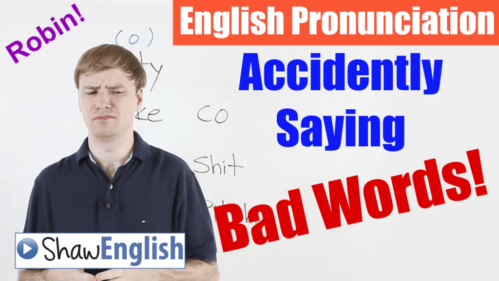 Free online English video about pronunciation.