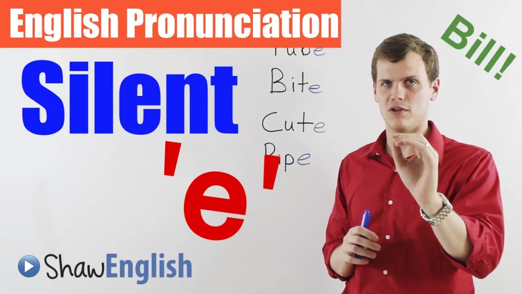 Free online English video about pronunciation
