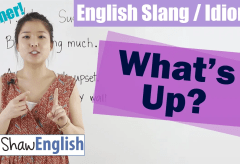 English Slang / Idioms: What's Up?