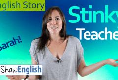 English Story: Stinky Teacher