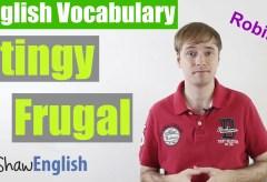 Stingy vs Frugal