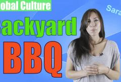 Backyard BBQ in Canada