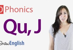 Consonants 'qu' and 'j'