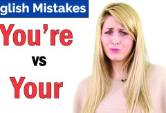 You're vs Your | Common English Mistakes