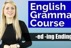 ADJECTIVES #3   Bored vs Boring   -ed -ing Endings   Basic English Grammar