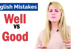 Good vs Well | Common English Grammar Mistakes
