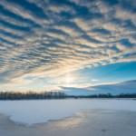 Sunrise Over Catsclaw Lake, James A. Reed Wildlife Area, Missouri