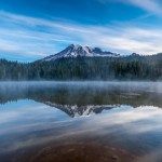Mount Rainier over Reflection Lake