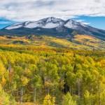 West Beckwith Mountain, Colorado, October 2013