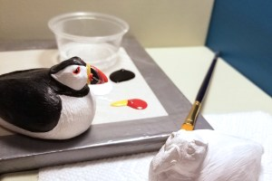 Basic Puffin - Craft Paint (9)